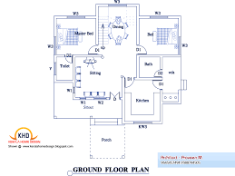 Kerala Home Design Floor Plan And Elevation by Bedroom Home Plan Elevation Kerala Design Floor Plans Building