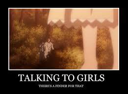 Girls Be Like Meme - talking to girls d gray man meme by animelvr12 on deviantart