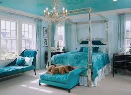 bedroom chaise teal bedroom ideas using glamorous silver decor with tufted chaise
