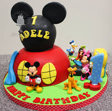 mickey mouse clubhouse birthday cake delectable delites mickey mouse clubhouse cake for adele s 1st