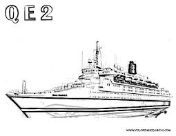 ocean liner coloring pages download and print for free