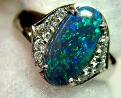 blue opal engagement rings the best opal engagement ring ideas from opal auctions
