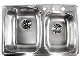 Kitchen Sink Top 33 Inch Top Mount Drop In Stainless Steel Bowl Kitchen