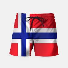 flag of norway swim shorts live heroes