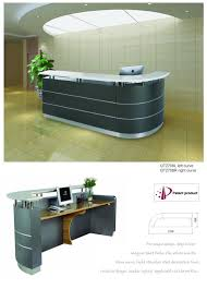 Circular Reception Desk by 2 7m 8 8ft Hospital Dental Center Clinic Curved Marble Reception