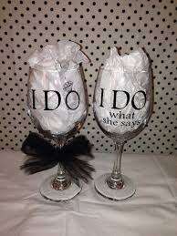 wedding gift glasses 131 best bridal shower images on wedding marriage and