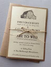 rustic wedding invites rustic barn wedding invitations by lemoninvitations great idea
