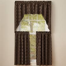 Primitive Swag Curtains Cbell Black Lined Swag Curtains Primitive Quilt Shop