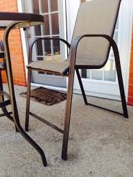tall patio chairs patio tall patio table home interior decorating