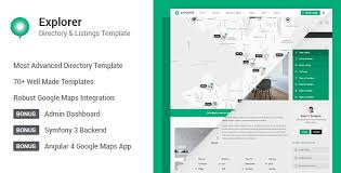 explorer multi concept directory html template free archives