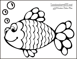 stunning goldfish coloring pages printable gallery printable