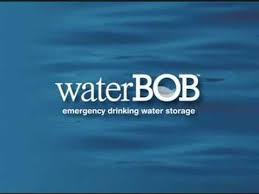 Bathtub Water Bladder Waterbob Emergency Drinking Water Storage Youtube