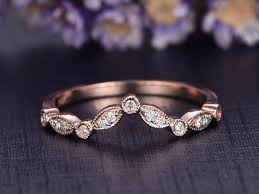 curved wedding band to fit engagement ring best 25 curved wedding band ideas on unique wedding