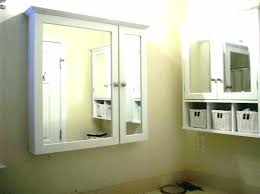 recessed bathroom mirror cabinet illusion recessed bathroom cabinet roper recessed bathroom mirror