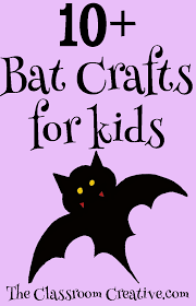 bat crafts for kids