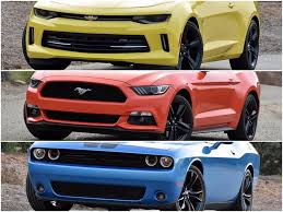 cars similar to mustang dna 3 way camaro vs mustang vs challenger ny daily