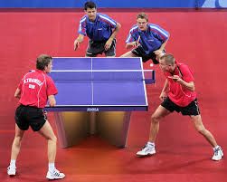 Table Tennis Doubles Rules Explained