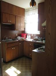 old kitchen cabinet makeover kitchen before after 1960s kitchen cabinet makeover painting old