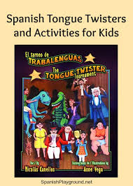 tongue twisters book and activities playground