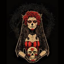 day of the dead in by design by humans on deviantart