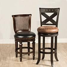 amazon com hillsdale savana swivel counter stool cherry kitchen