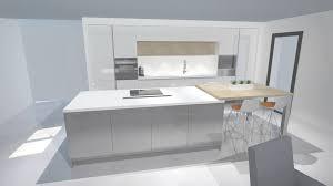 cuisine moderne blanc cuisine moderne laquée blanc et gris brillant à 91