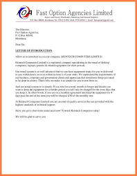 introduce letter format image collections letter samples format