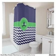 Green Chevron Shower Curtain 170 Best Shower Curtains Images On Bathroom
