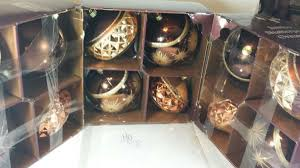3 boxes of jumbo shatterproof ornaments home garden in tarboro