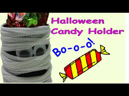 Recycled Halloween Crafts - diy crafts for halloween a ghost candy holder recycled bottles
