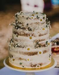 wedding cake rustic rustic wedding cake buttercream cake with daisies wedding