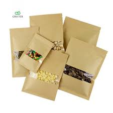 where to buy mylar bags aliexpress buy multi sizes kraft and clear mylar bags window
