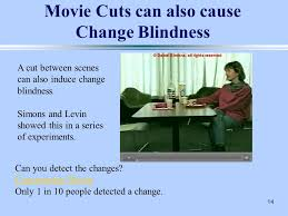 Change Blindness Task 1 Computational Vision Csci 363 Fall 2012 Lecture 36 Attention