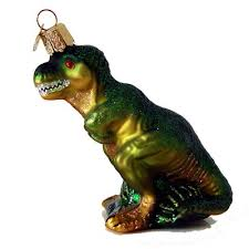 t rex world ornament ornament ornament
