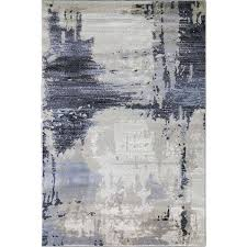 Area Rug Modern Brown Abstract Rug Abstract Area Rug Cozy Rugs Chicago