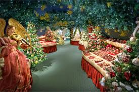 German Christmas Village Decorations by The