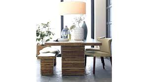 crate and barrel parsons dining table big sur dining table table designs