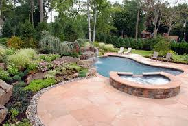 Pretty Backyard Ideas Garden Design With Pool Beautiful Landscaping Amp Gardens Projects