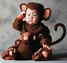 baby monkey halloween costume photo album sock monkey costume for
