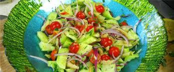 a classic caribbean summer salad from my garden caribbeanpot Garden Salad Ideas