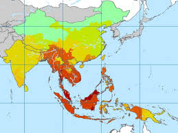 pacific region map malaria in the pacific region the pacific journal