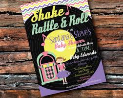 shake rattle and roll baby shower shake rattle and roll rock a bye baby shower rockstar lil tune