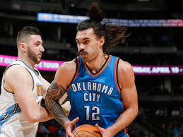 steven adams says he grew his hair because he was tired of paying