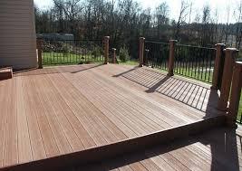 photo gallery of large composite decks by andy loschiavo custom decks