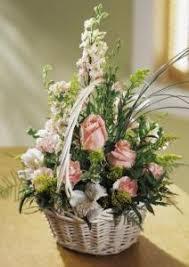 Order Flowers San Francisco - blushing beauty basket colma florist funeral flowers san