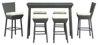 Rattan Bar Table Contemporary Bistro Set U2013 Mobiledave Me