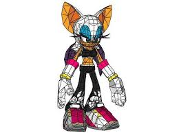 Sonic The Hedgehog Papercraft - sonic the hedgehog the bat free papercraft http