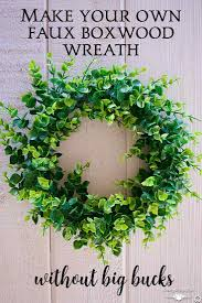 how to make your own wreath without big bucks country design style