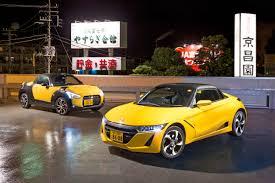 japanese sports cars japan u0027s micro sports cars u2013 honda and daihatsu kei cars driven