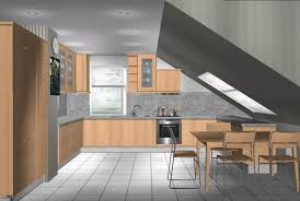 küche in dachschräge vorschläge für küche mit dachschräge